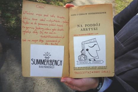 Summer Bench - Książka w Podróży